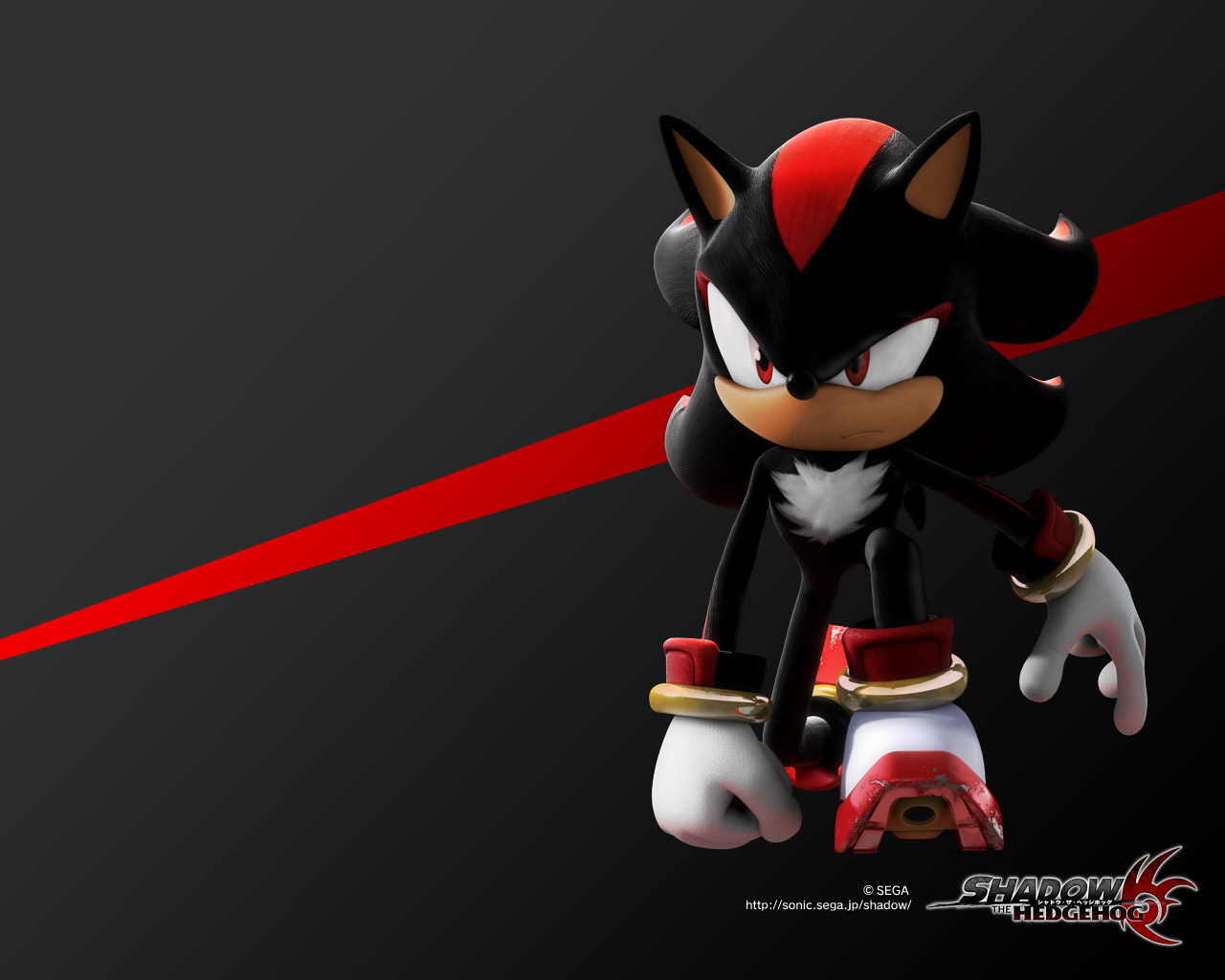 shadow of a hedgehog desktop shadow the hedgehog game wallpapers