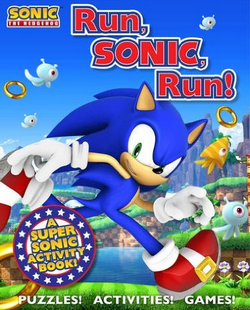 New Sonic Activity Book 'Run, Sonic Run!'