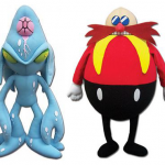 New Chaos Zero and Classic Eggman Plushes Now Available