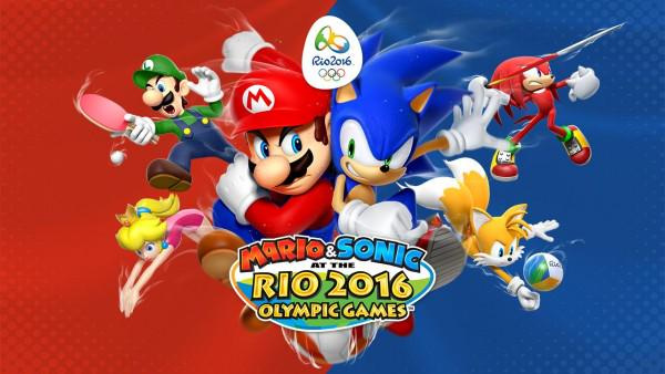 mario & sonic at the rio 2016 olympic games promo