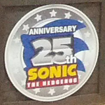 Sonic 25th Anniversary Logo Seen At The Vegas Licensing Expo