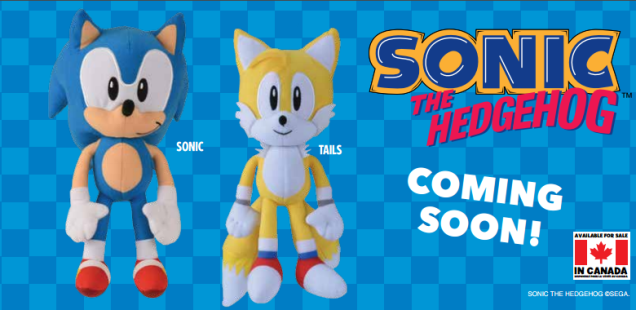 New Classic Sonic & Tails Plushies by Toy Factory Revealed