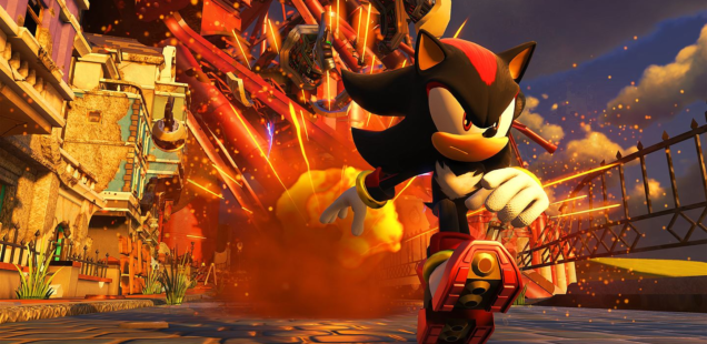 Shadow Confirmed Playable for Sonic Forces