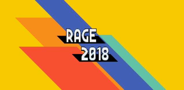 RAGE (Really Amateur Games Expo) 2018 Announced